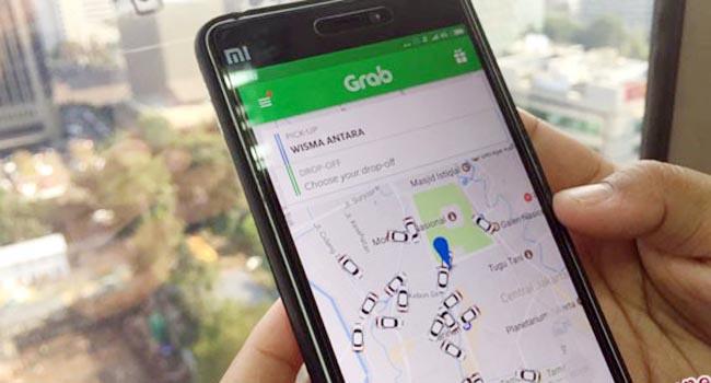 Aplikasi transportasi online (antara)