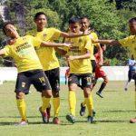 Selebrasi kemenangan skuad PSP U-15 (dede amri)