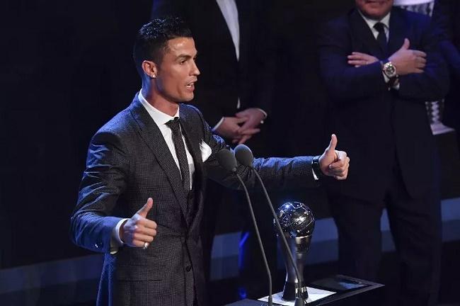 Cristiano Ronaldo. (okezone)