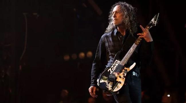 Kirk Hammett. (okezone)