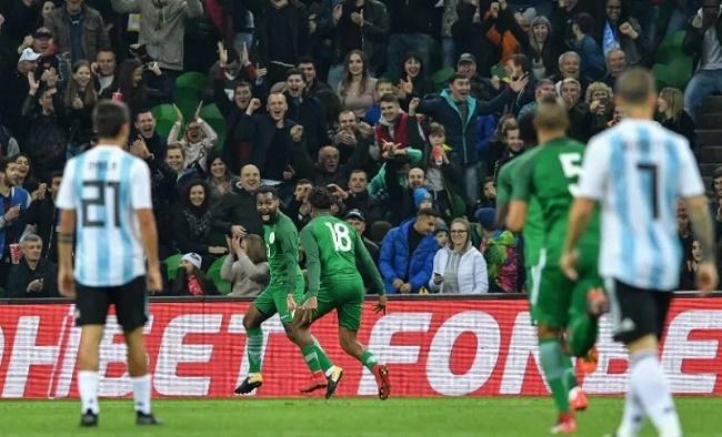 Nigeria menang 4-2 atas Argentina. (okezone)