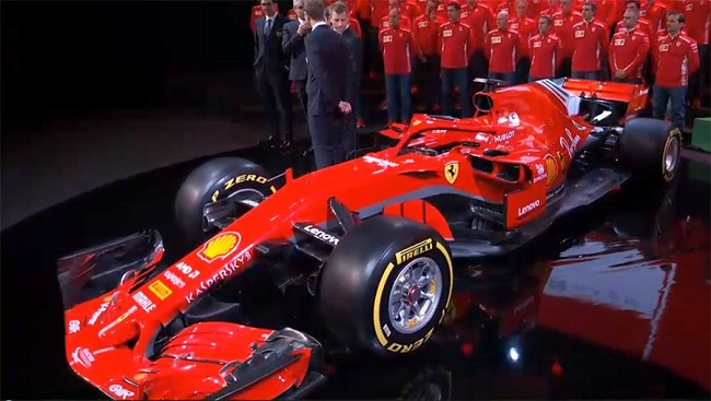 Ferrari Luncurkan Mobil Anyar Untuk F1 2018 Portal Berita Singgalang