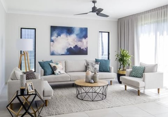 Hiasan Ruang Tamu Rumah Simple